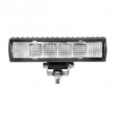 LED darbo žibintų komplektas 2x18W; combo; su pajungimo laidais OSRAM; R112, R10, EMC 2