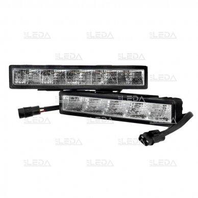 LED DRL dienos šviesos žibintai E4, R87, 307 3