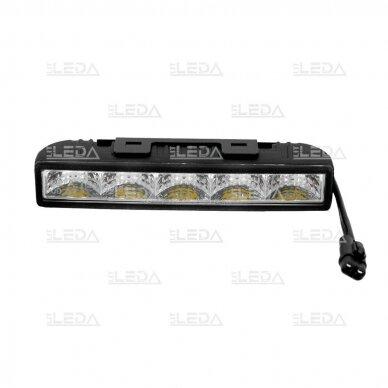 LED DRL dienos šviesos žibintai E4, R87, 307 4