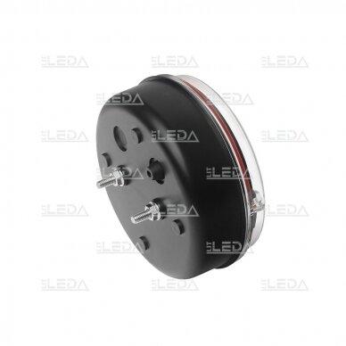 LED galinis žibintas su 3 funkcijomis, 12-24V (kairinis) 6
