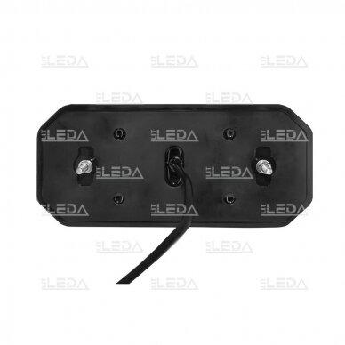 LED Galinis Žibintas 6 funkc., 12-24V, 235x110mm, dešininis 4