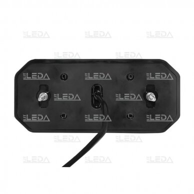 LED Galinis Žibintas 6 funkc., 12-24V, 235x110mm, kairinis 2