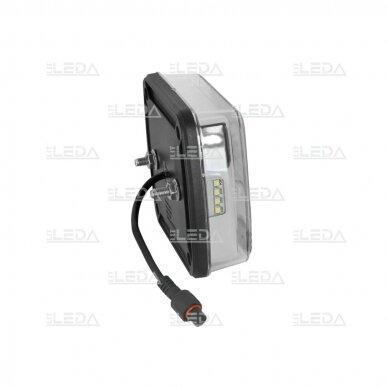 LED galinių žibintų komplektas 12-24V, (su laidais) 4