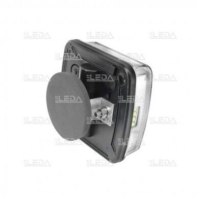 LED galinių žibintų komplektas 12V; pakraunamas, belaidis 3