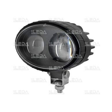 LED krautuvų žibintas 10-80V; mėlyno siauro spindulio 4