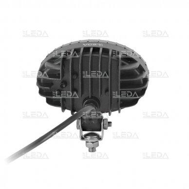 LED krautuvų žibintas 10-80V; mėlyno siauro spindulio 7