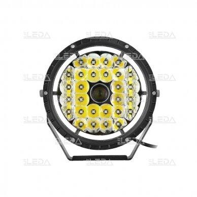 LED lazerinis darbo žibintas su DRL 90W