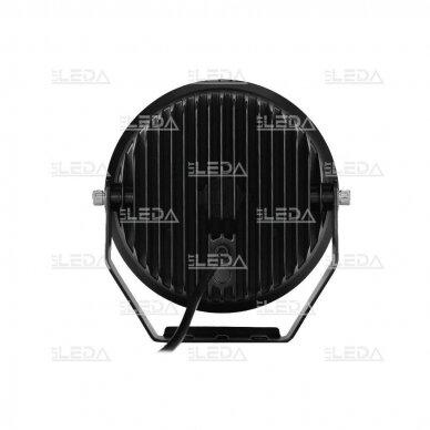 LED lazerinis darbo žibintas su DRL 90W 3