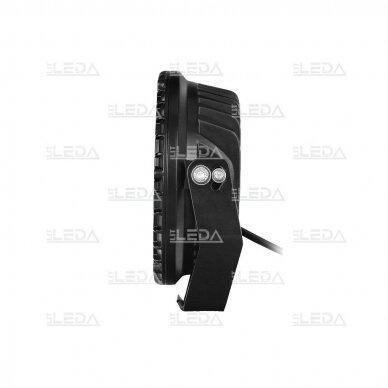 LED lazerinis darbo žibintas su DRL 90W 4