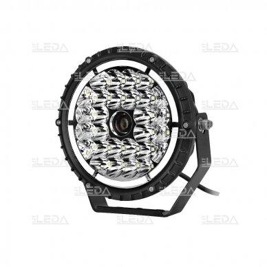 LED lazerinis darbo žibintas su DRL 90W 2
