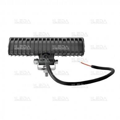 LED sertifikuotas darbo žibintas 18W; combo; OSRAM; R112, R10, EMC 6