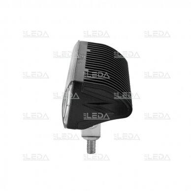LED sertifikuotas darbo žibintas 18W; combo; OSRAM; R112, R10, EMC 5
