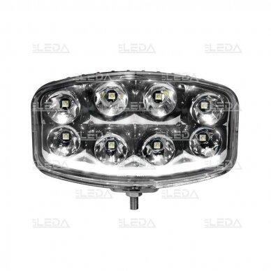 LED Sertifikuotas Žibintas 64W Kombinuoto spindulio EMC DRL 3