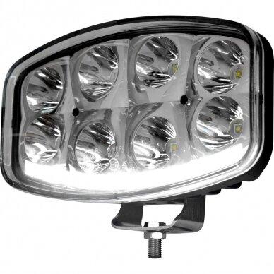 LED Sertifikuotas Žibintas 64W Kombinuoto spindulio EMC DRL 5