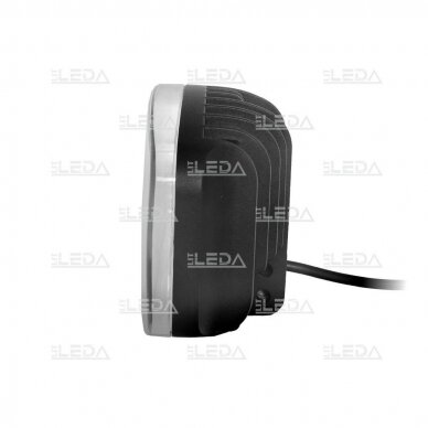 LED Sertifikuotas Žibintas 64W Kombinuoto spindulio EMC DRL 6