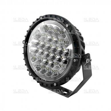 LED darbo žibintas 68W+5W; (combo+angelo akis) CREE; R112, R7, R10, EMC 2