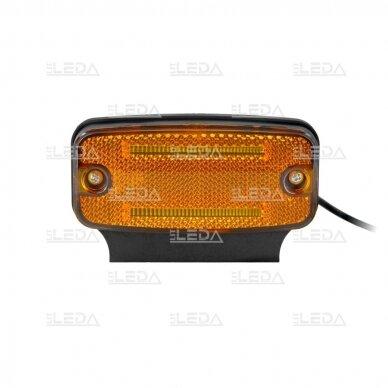 LED šoninis žibintas - atšvaitas, oranžinis 3