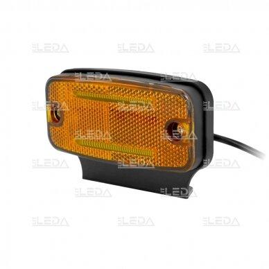 LED šoninis žibintas - atšvaitas, oranžinis 2