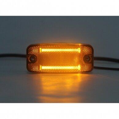 LED šoninis žibintas - atšvaitas, oranžinis 8