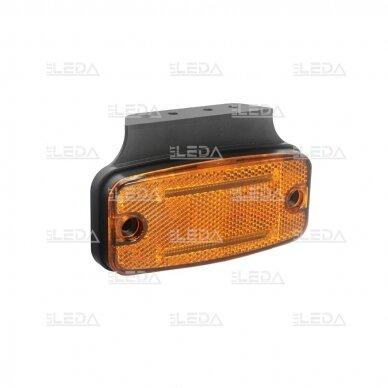 LED šoninis žibintas - atšvaitas, oranžinis