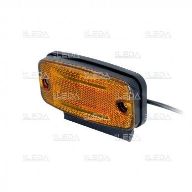 LED šoninis žibintas - atšvaitas, oranžinis 4