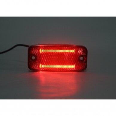 LED šoninis žibintas - atšvaitas, raudonas 6