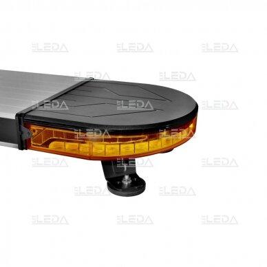 LED švyturėlis oranžinis su magnetiniu laikikliu, 60W, 12-24V 6
