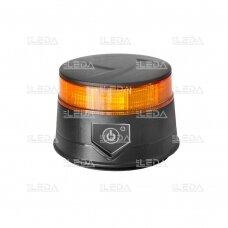 Pakraunamas LED švyturėlis oranžinis, su magnetu