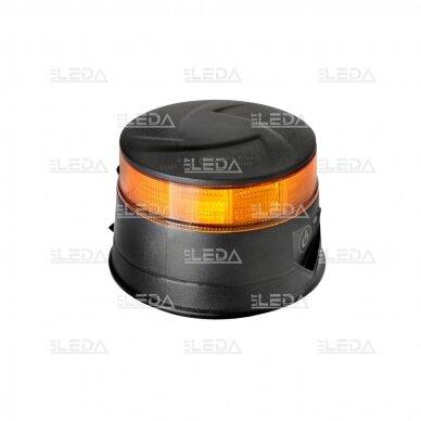 Pakraunamas LED švyturėlis oranžinis, su magnetu 3