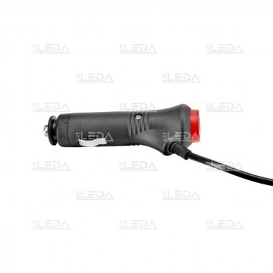Sertifikuotas LED švyturėlis oranžinis su magnetiniu padu R10 12V-24V 3